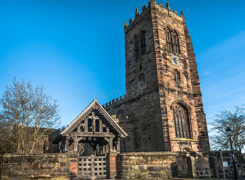 Download Great Budworth Church Stock Photo - Image: 40110399