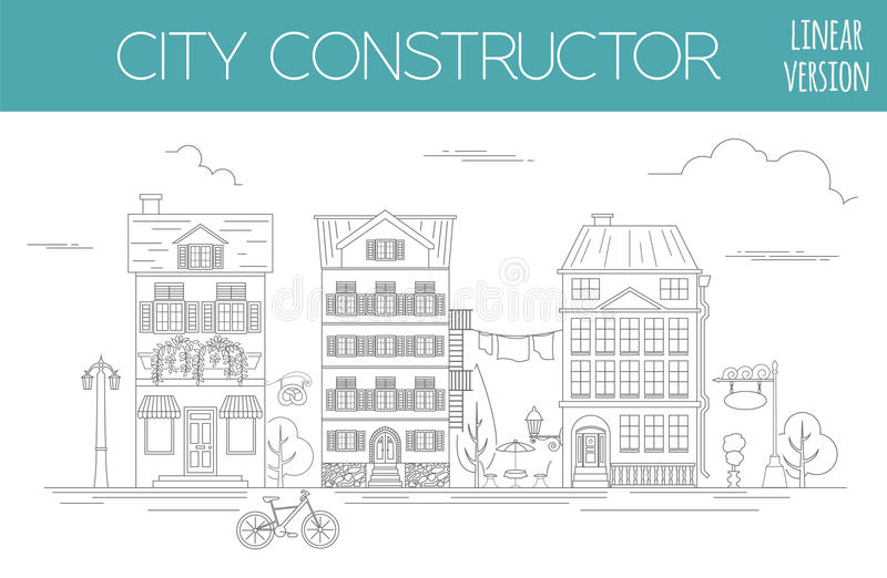 Great City Map Creator Outline Version House Constructor