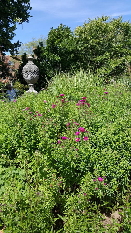 Great Comp Garden. View stock image