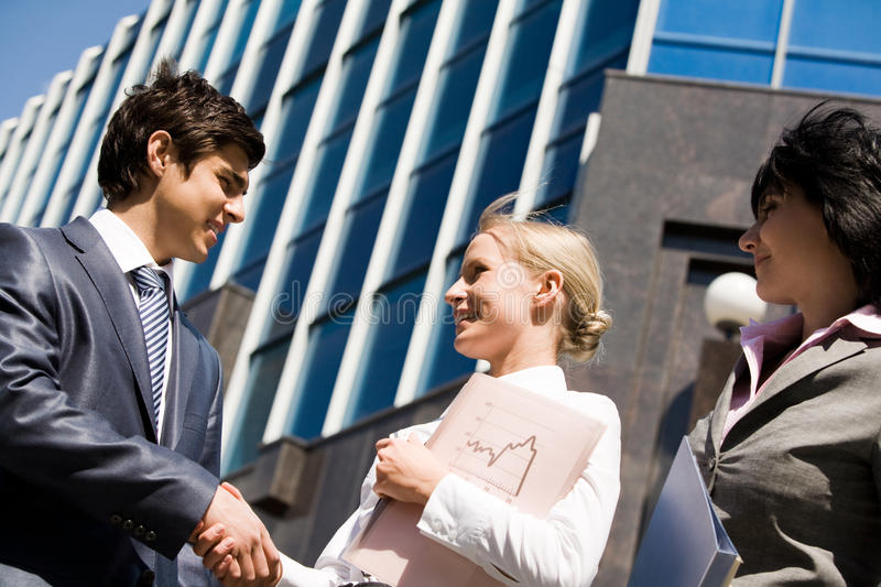 Download Great deal stock image. Image of confident, company, companionship - 10310483