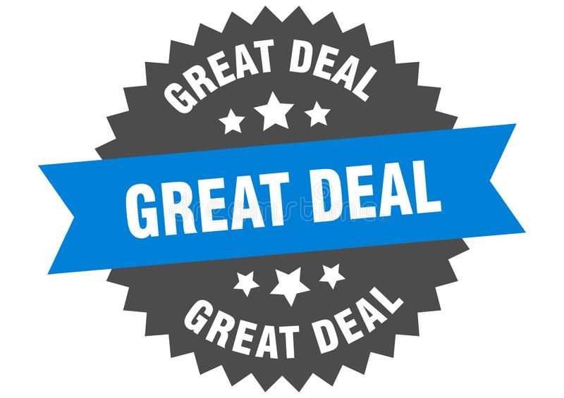 great deal stock illustration
