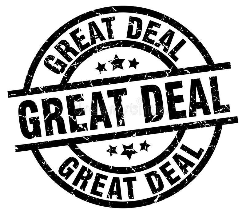 great deal stamp royalty free illustration