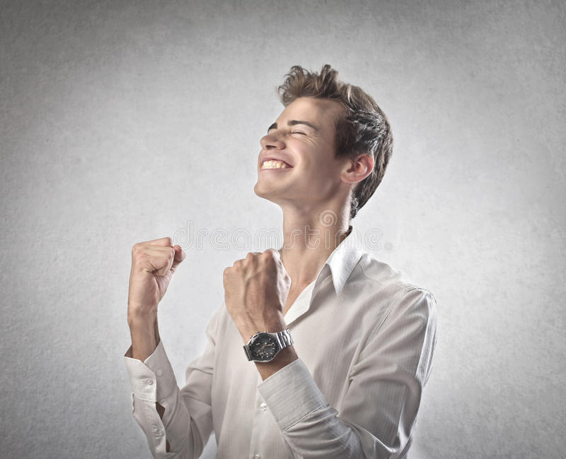 Download Great Enjoyment stock image. Image of smile, young, winning - 26194219