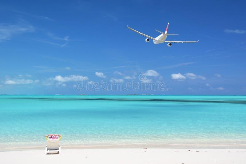 Great Exuma, Bahamas. Beach scene. Great Exuma, Bahamas stock photos