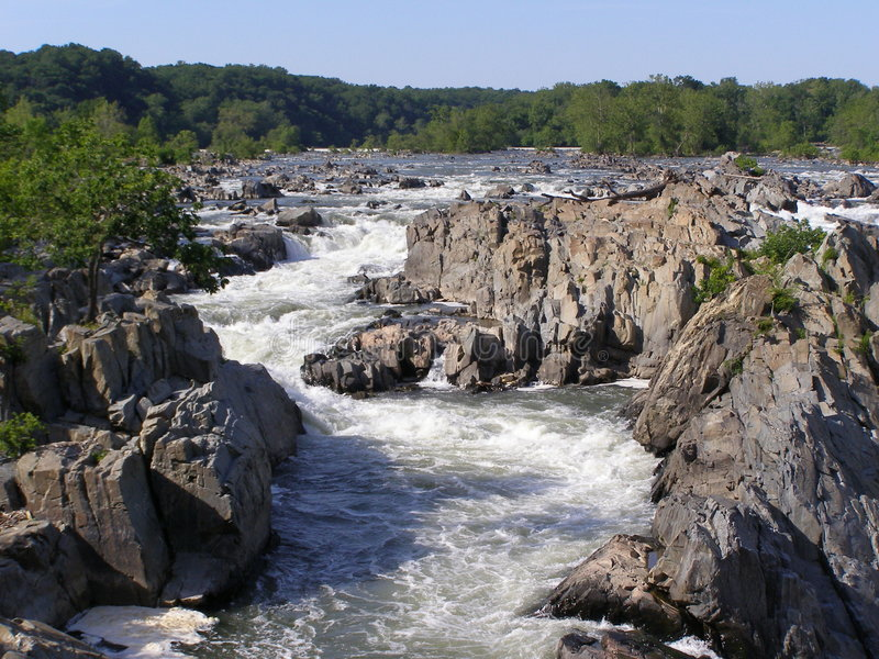 Great Falls stock image