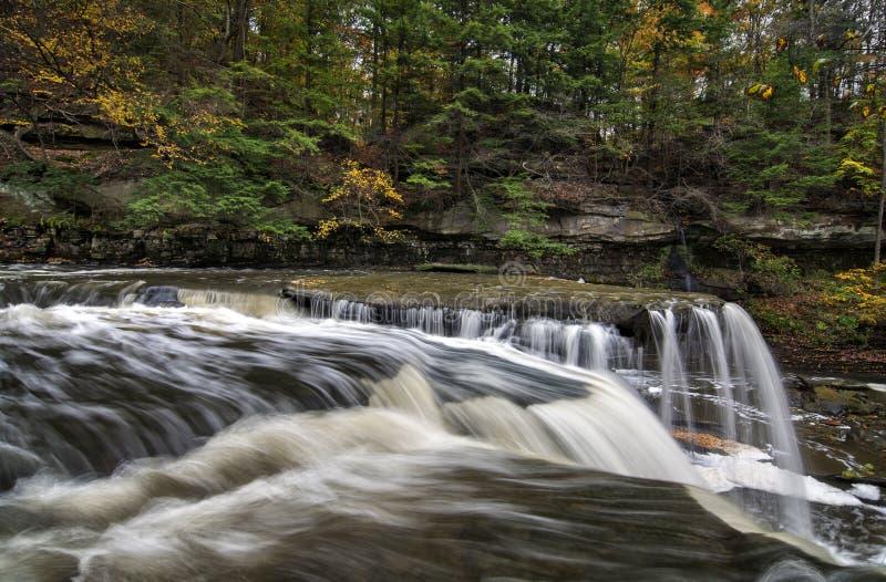 Great Falls av Tinker klyftan för liten vik för ` s royaltyfri foto