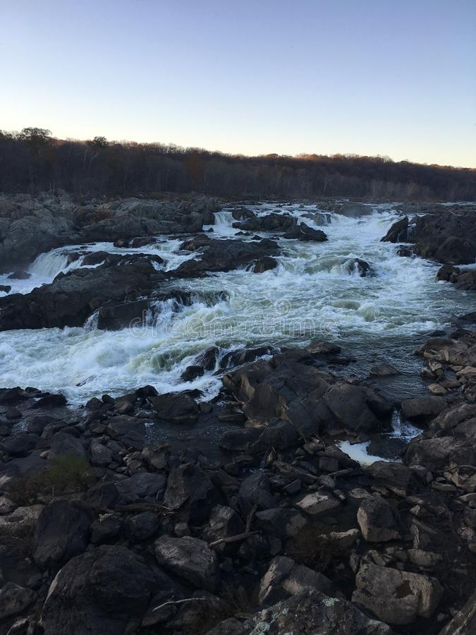 Great Falls, DM images stock