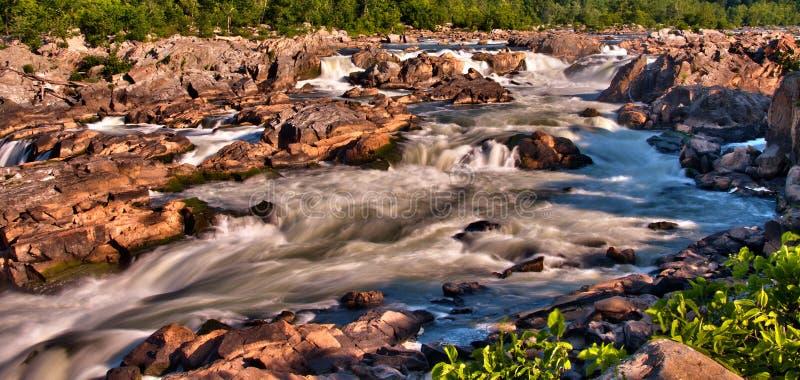 Great Falls Near Washington DC Royalty Free Stock Photo