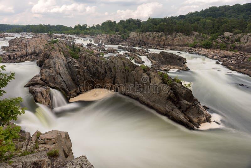 Great Falls Park stock image