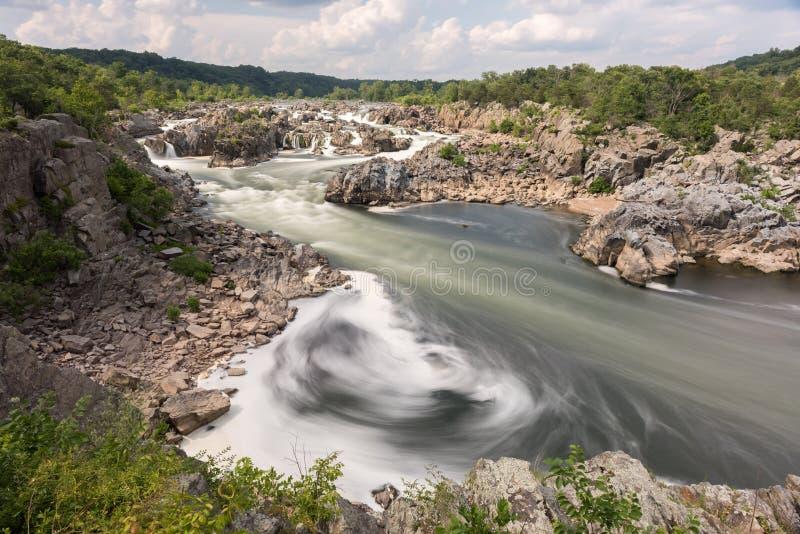 Great Falls Park stock photos