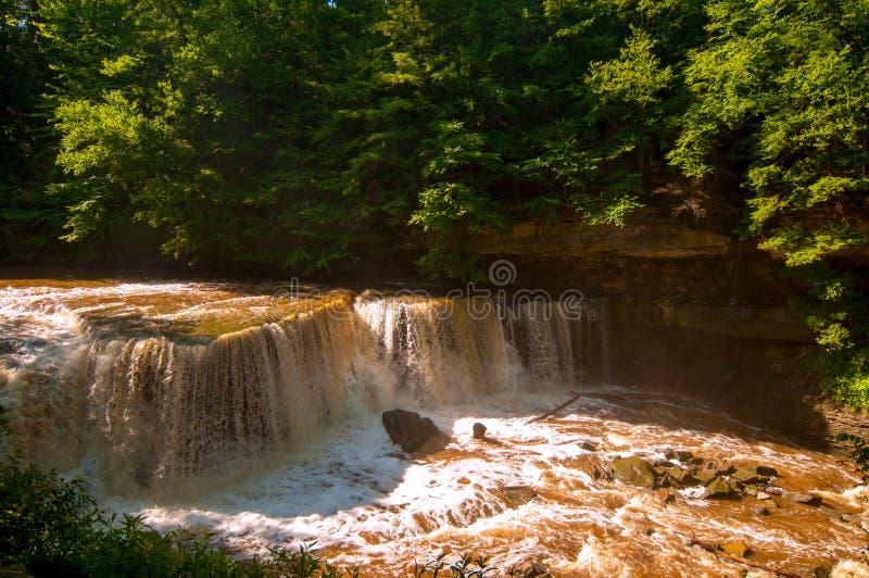 Great Falls van Bedford royalty-vrije stock foto