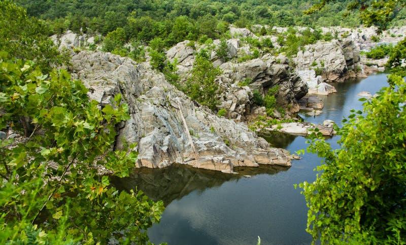 Great Falls Virginia zdjęcia stock