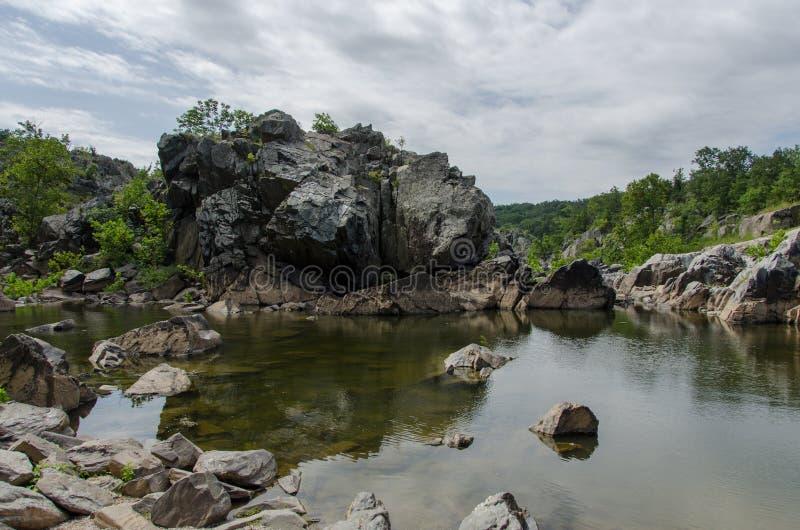 Great Falls Virginia stock afbeelding