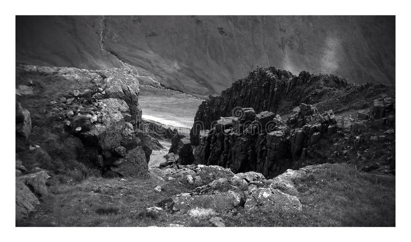 Great Gable royalty free stock images