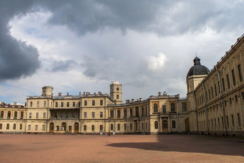 Great Gatchina Palace royalty free stock photos