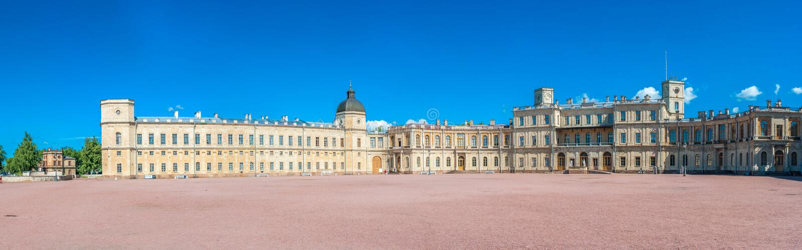 Great Gatchina Palace stock image