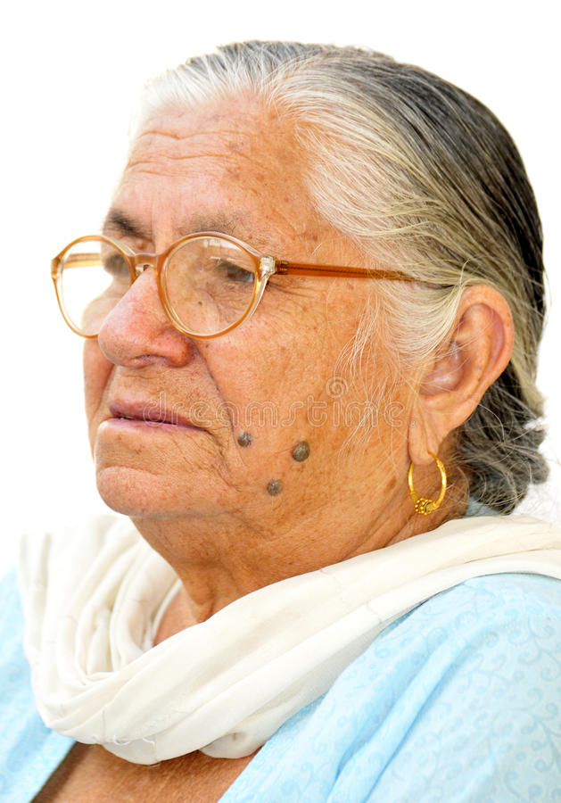 Download Great grandmother stock photo. Image of wrinkles, loose - 11580110