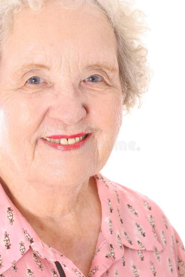 Great grandmother headshot royalty free stock photo