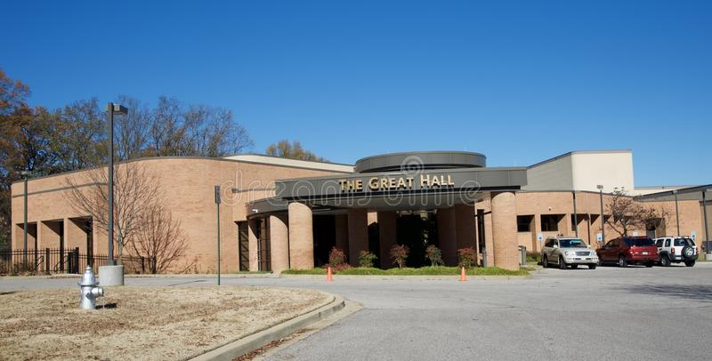 The Great Hall, Germantown Tennessee royalty free stock photo