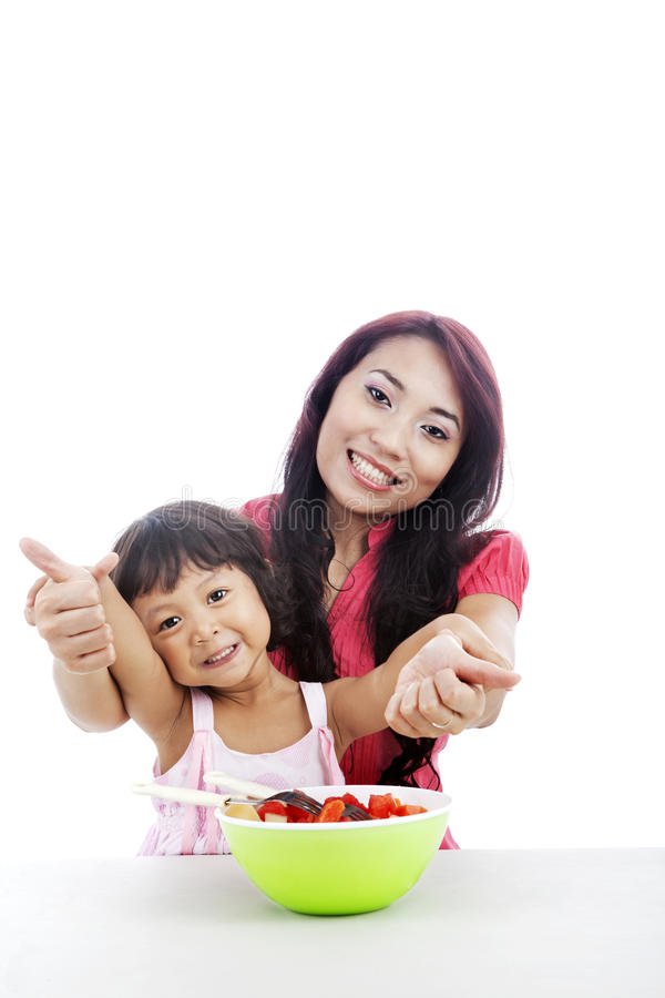 Download Great healthy food stock photo. Image of female, indonesian - 25197144