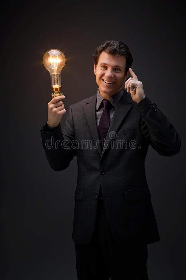 A great idea royalty free stock photography