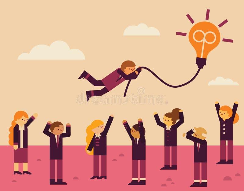 A great idea vector illustration