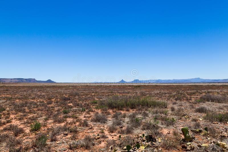 Great Karoo landscape South Africa. Landscape of the Great Karoo semi desert region in the Northern Cape of South Africa royalty free stock images