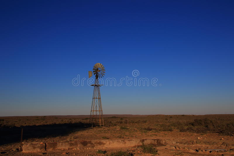 Great Karoo landscape South Africa. Landscape of the Great Karoo natural region in the Western Cape of South Africa stock photography