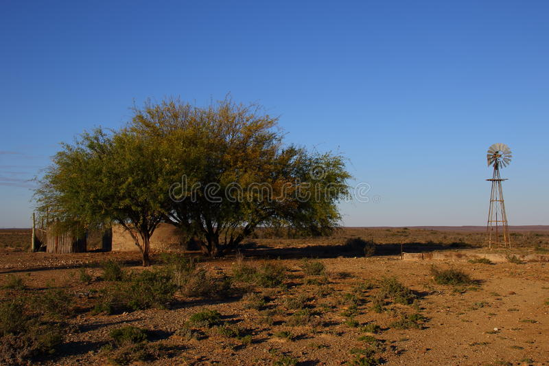 Great Karoo landscape South Africa. Landscape of the Great Karoo natural region in the Western Cape of South Africa royalty free stock photo