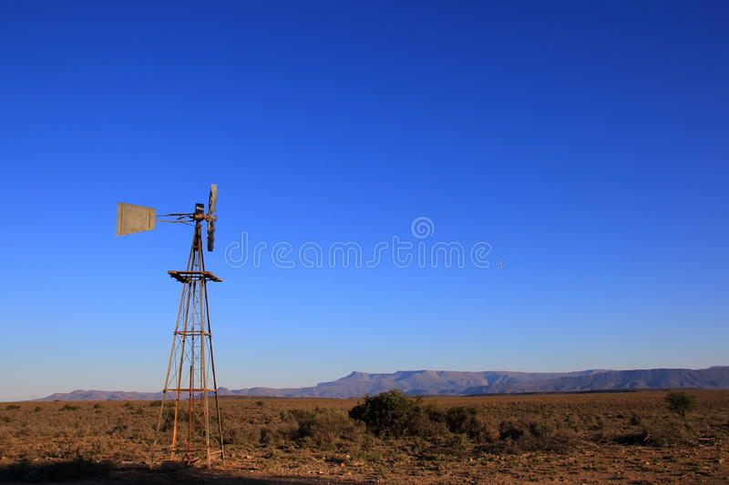 Great Karoo landscape South Africa. Landscape of the Great Karoo natural region in the Western Cape of South Africa royalty free stock images