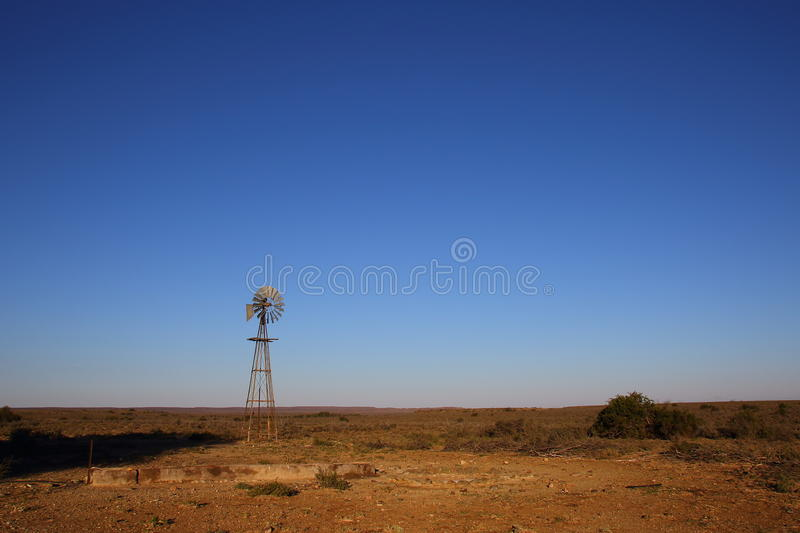 Great Karoo landscape South Africa. Landscape of the Great Karoo natural region in the Western Cape of South Africa stock photo