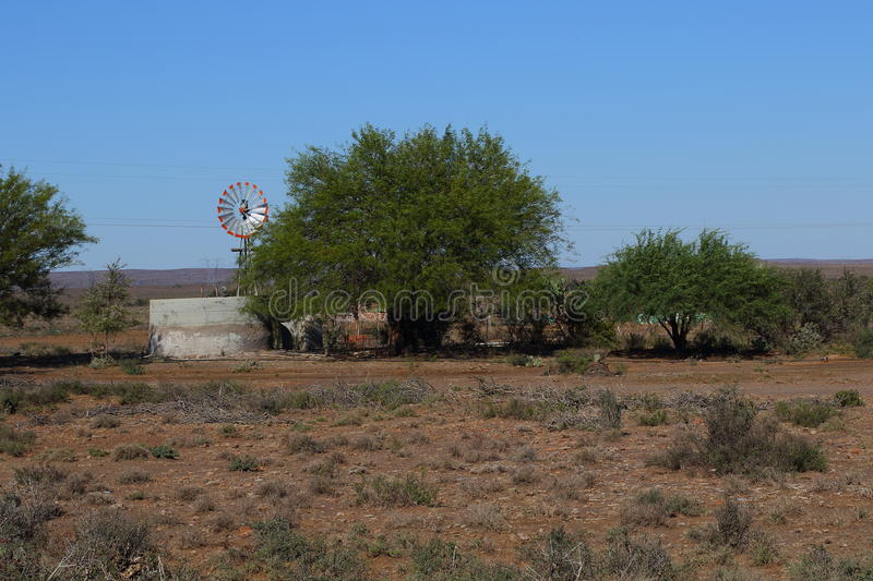 Great Karoo landscape South Africa. Landscape of the Great Karoo natural region in the Western Cape of South Africa royalty free stock photos