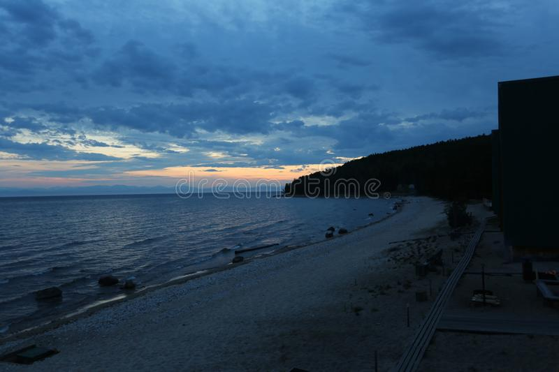 The great lake Baikal, Russia royalty free stock photography