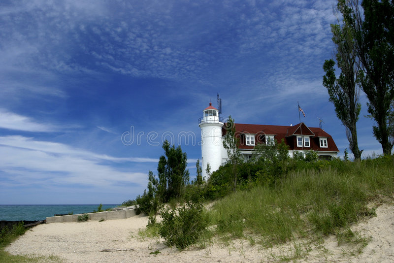 Great Lakes Lighthouse Stock Image
