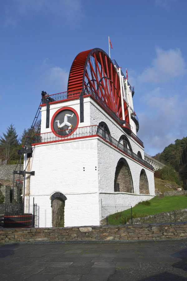 Free Great Laxey Wheel, Isle Of Man Royalty Free Stock Photo - 6074255