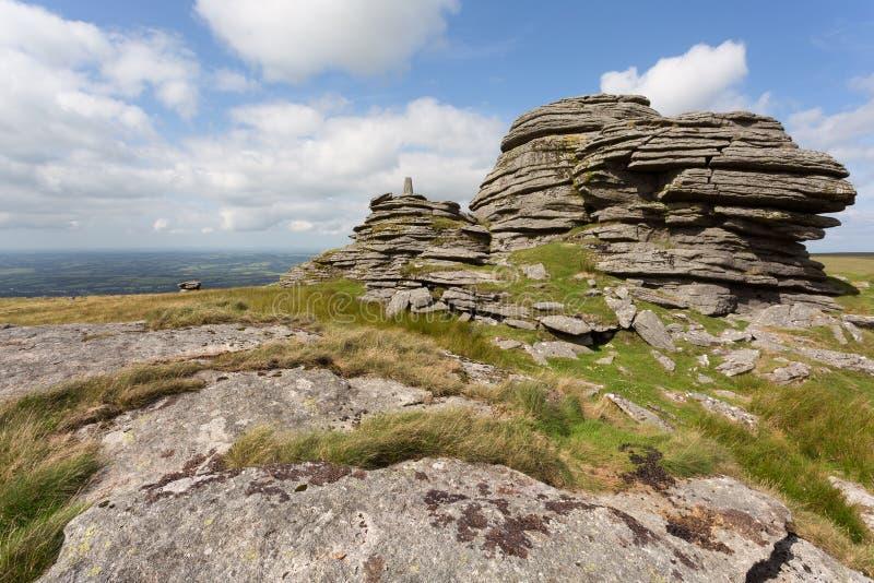 Great links tor. Dartmoor national park Devon Uk stock photo