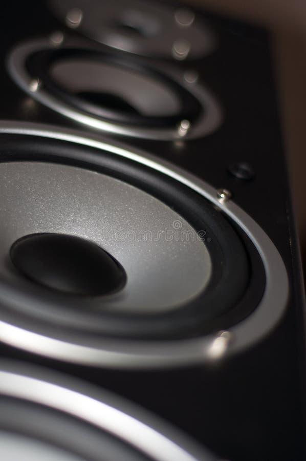 Great loud speakers. royalty free stock photo