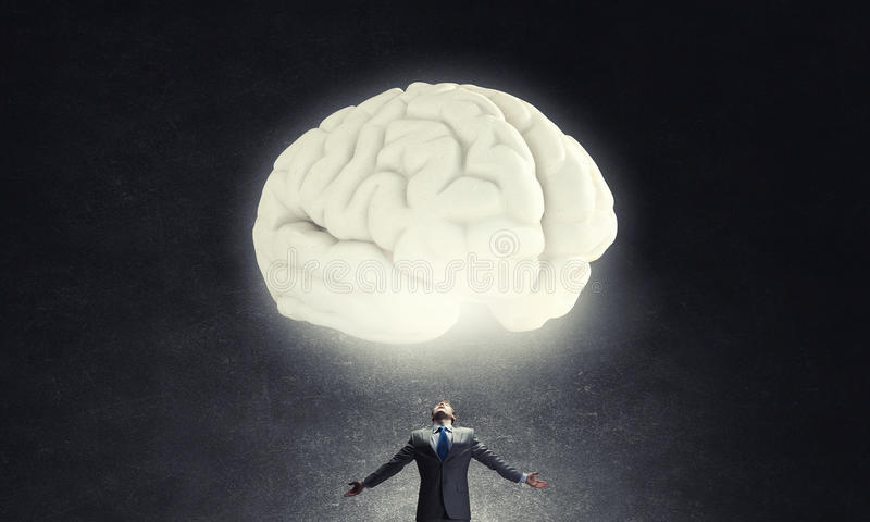 Great mind royalty free stock images