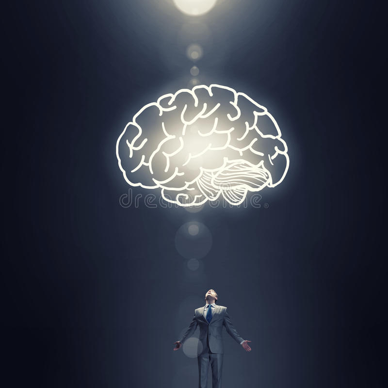Great mind royalty free stock image