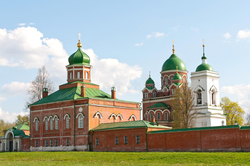Great monasteries of Russia. Borodino royalty free stock images
