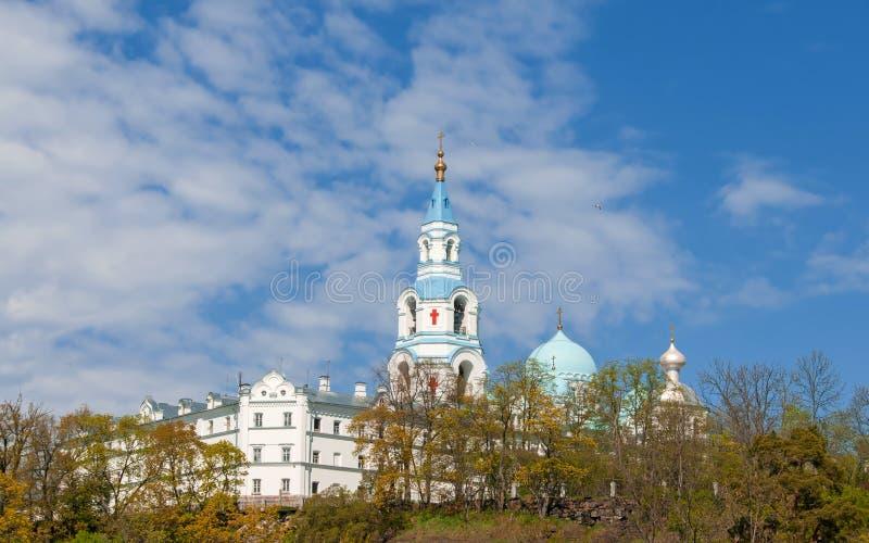 Great monasteries of Russia. Island Valaam royalty free stock photos