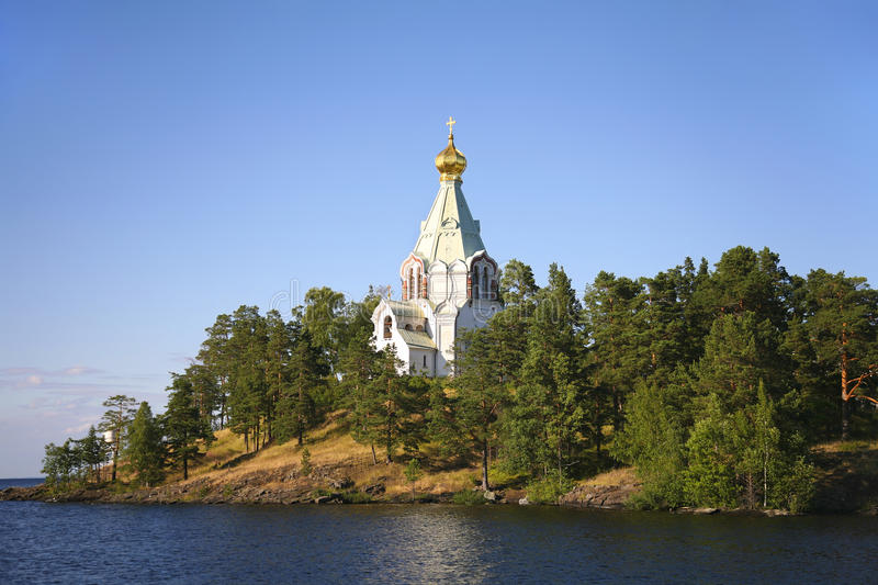 Great monasteries of Russia. Island Valaam. royalty free stock photography