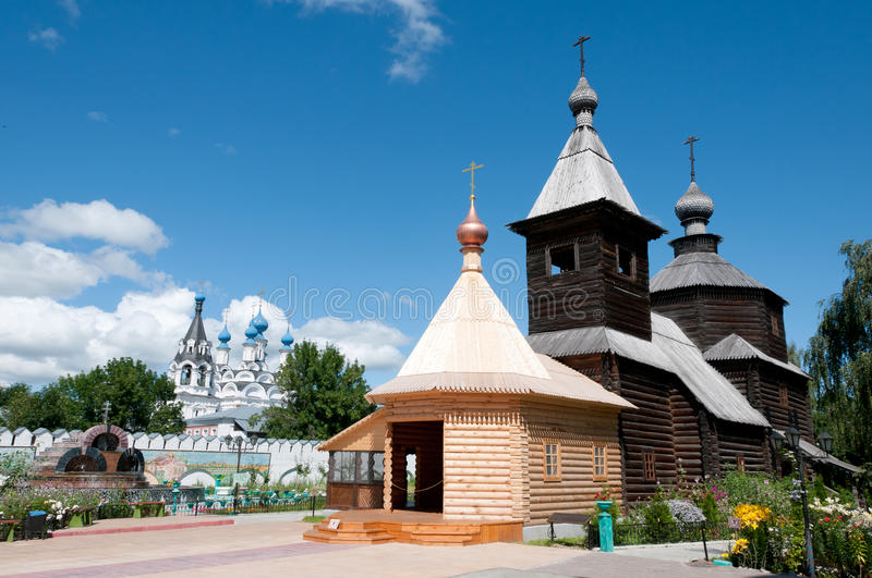 Great monasteries of Russia. Murom royalty free stock photo