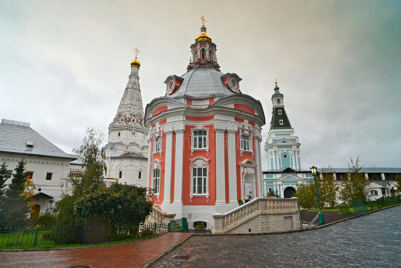 Great monasteries of Russia. Sergiev Posad royalty free stock image