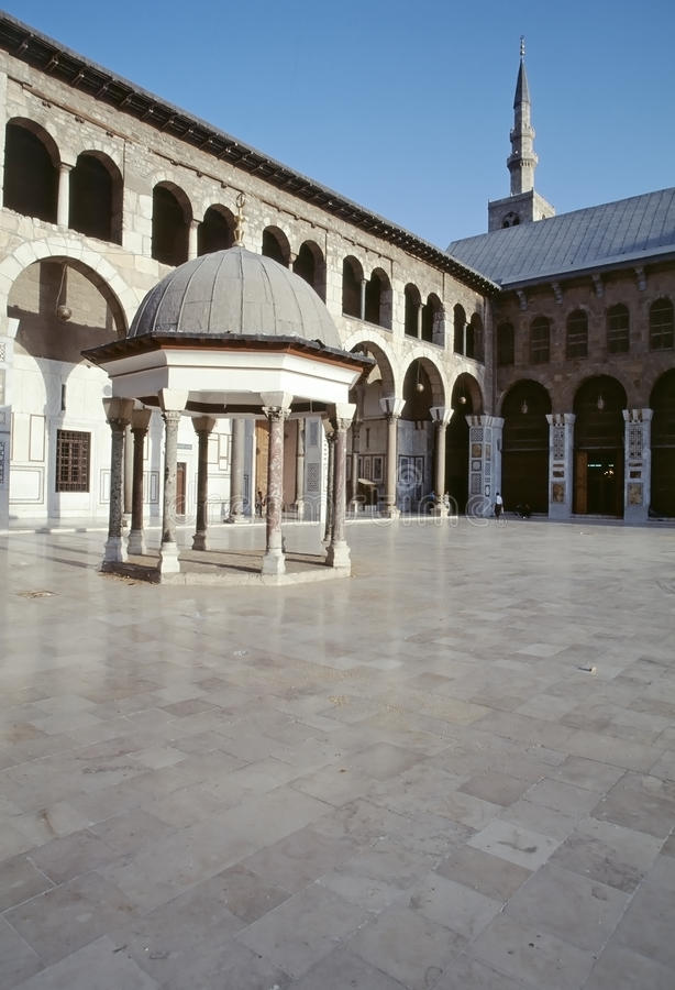 Download Great Mosque of Damascus editorial image. Image of muslim - 26078350