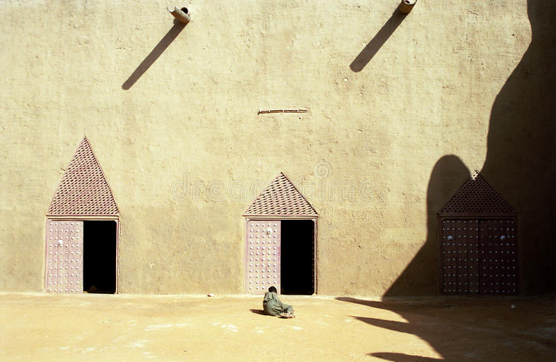 Download The Great Mosque, Djenne, Mali Stock Image - Image: 10112033