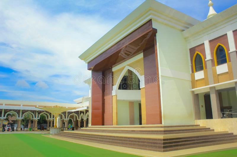The Great Mosque of Indramayu West Java Indonesia stock photography