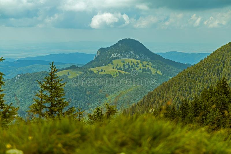 Great mountain scenery royalty free stock image