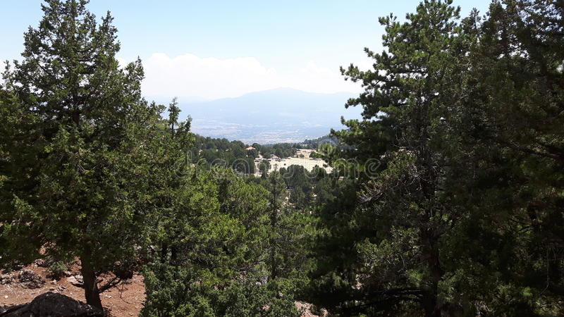 Great mountain royalty free stock photos