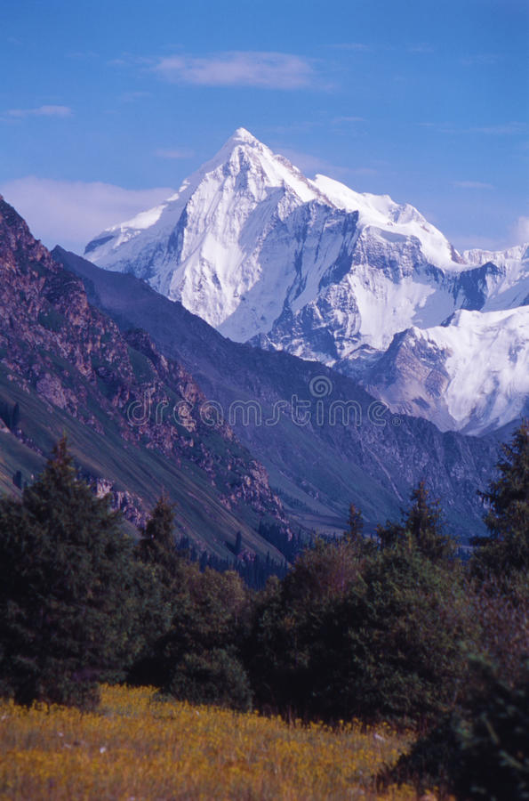 Great mountains royalty free stock images